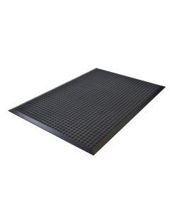 PUR-Arbeitsplatzmatte mit Noppen, 95 x 200 cm, gebraucht